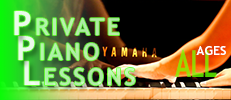 Yamaha Music Academy Piano Private Lessons