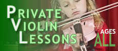 Yamaha Music Academy Violin Private Lessons